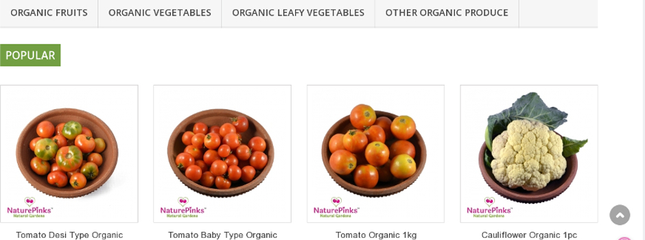 Buy online - Organic food delivered in Hyderabad/Secunderabad
