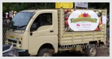 Home delivery of organic fruits and vegetables